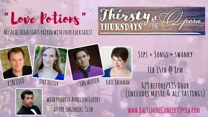 Thirsty Thursday at the Opera Love Potions