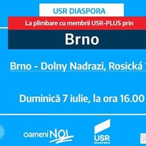 ntlnire n Brno USR PLUS Cehia Austria i Slovacia