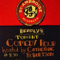 Catherine Robertson Presents Comedy Night  Bearlys feat Travis Lindsay