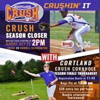Cortland Crush Season Finale Cornhole Tournament