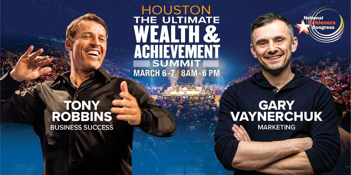 Tony Robbins & Gary Vaynerchuk  Live Houston
