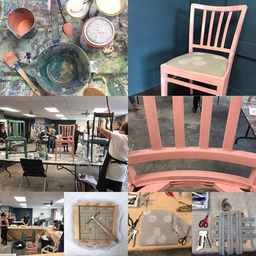 Complete Chair Makeover Workshop