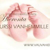 Vauvahierontakurssi vanhemmille Kuopio