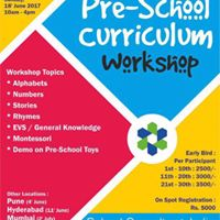 Pre-School Curriculum Workshop  Chennai