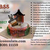Cake Making Classes In Velachery : Fondant Class Chennai