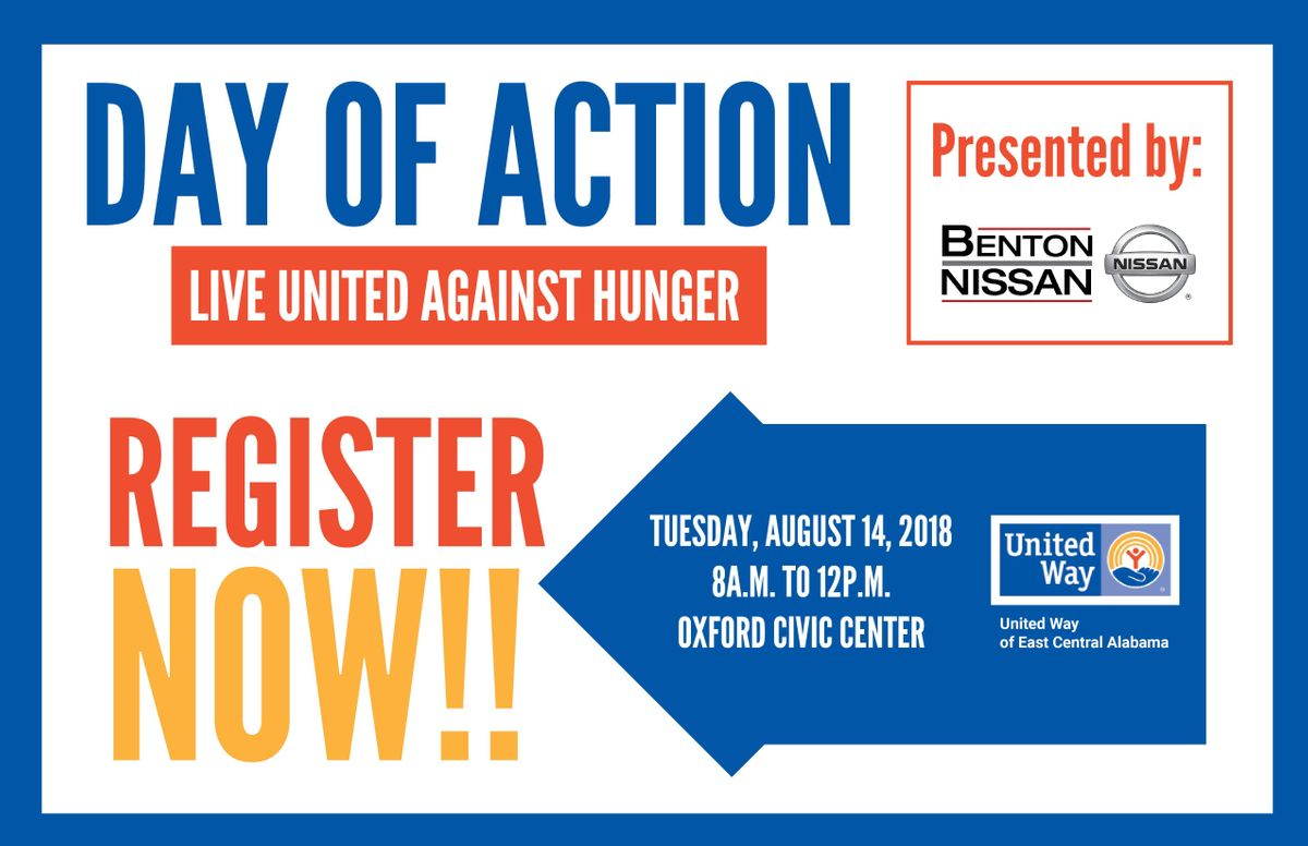 Benton Nissan Oxford >> United Ways 2018 Campaign Kickoff Day Of Action Presented By