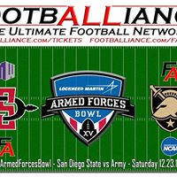 Armed Forces Bowl  San Diego State vs Army ArmedForcesBowl