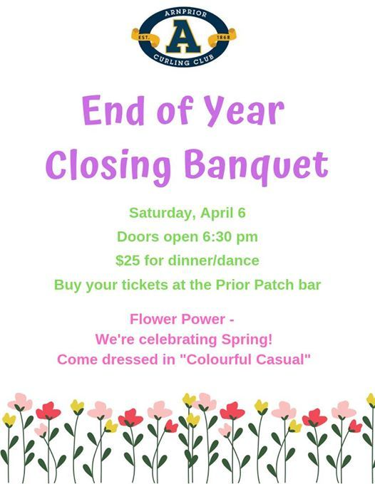 End of Year Closing Banquet