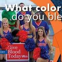 What Colors Do You Bleed Blood Drive Challenge