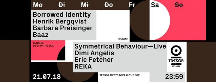Tresor meets Deep in the Box