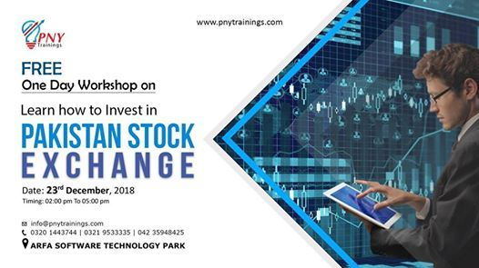 Free Workshop on How to Invest in Pakistan Stock Exchange