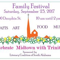 Family Festival Celebrate Midtown Mobile with Trinity