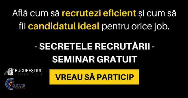 Secretele recrutrii - pentru angajai i angajatori
