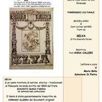 Miscellanea di canti siciliani dell800