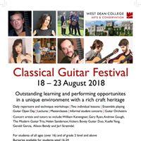 West Dean International Classical Guitar Festival 2018