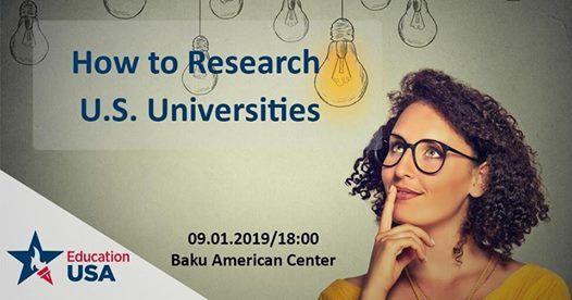 How to Research U.S. Universities