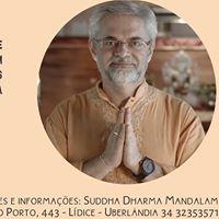 Palestra com Dr. Rugu - Integrando Yoga e Ayurveda no cotidiano