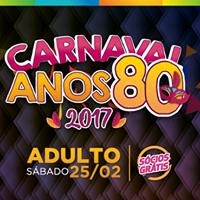 Carnaval Anos 80 Aliana Santa Cruz - Adulto - 252
