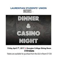 Dinner &amp Casino Night