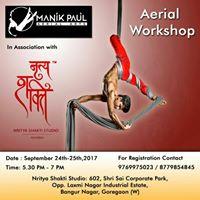 Aerial Silk Workshop by Manik Paul Aerial Arts
