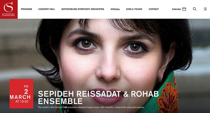 Sepideh Raissadat & Rohab Ensemble Gteborg