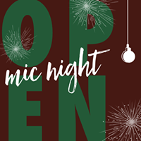Countdown to Christmas Open Mic