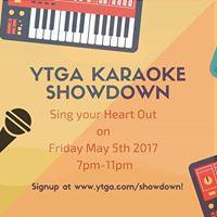 YTGA Karaoke Showdown