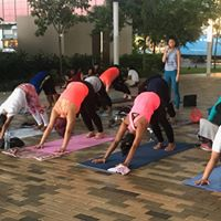 Outdoor Yoga with Alice Siu