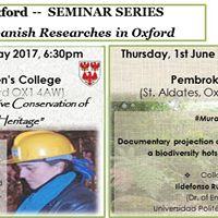 Oxford Seminar Series PIlar Ortiz Caldern