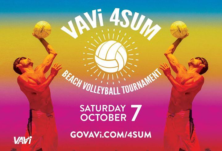 VAVi 4SUM Beach Volleyball Tournament at Pacific Beach at
