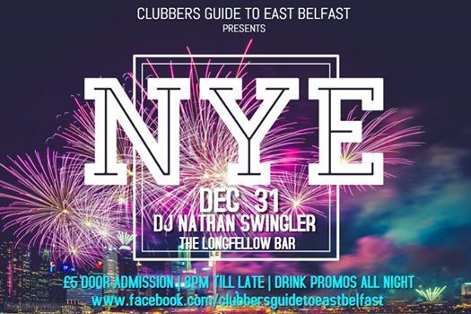 New Years Eve at The Longfellow Bar