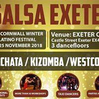 Devon and Cornwall Winter Afro-Latino Festival 23 24 25 November