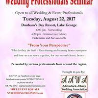 AWP-All Wedding Professionals Seminar-Free