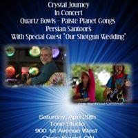 Crystal Journey in Owen Sound WOur Shotgun Wedding