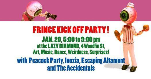 Asheville Fringe Kick Off Party
