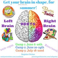 Painting with a twist art science camp lafayette for Painting with a twist arizona