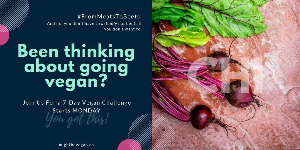 7-Day Jumpstart to Vegan Challenge  CHI