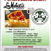 Lou Malnatis Fundraiser  -- Two Locations