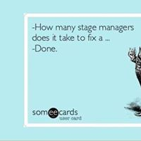 Stage manager training