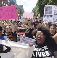 Join WWP at NYC Pride Black &amp Brown Trans Lives Matter