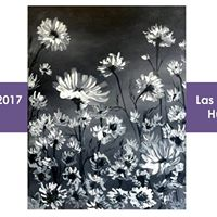Paint Nite- Night Flowers