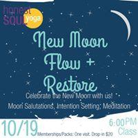 New Moon Flow  Restore