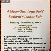 Albany-Saratoga Fall FestivalVendor Fair
