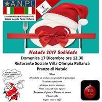 Pranzo di Natale Solidale ANPI 2017