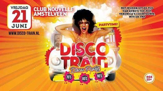 Disco-Train Amstelveen juni