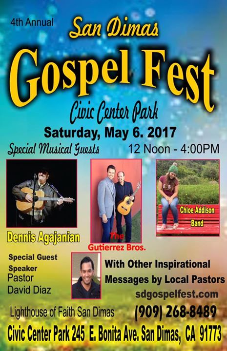4th Annual San Dimas Gospel Fest