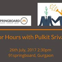 Mentor Hours with Pulkit Srivastava
