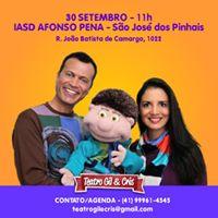 Teatro Gil &amp Cris em So Jos dos Pinhais (PR)