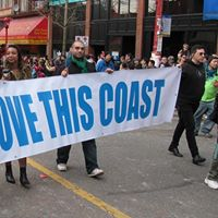 We Love This Coast at Pride Parade to Stop Kinder Morgan