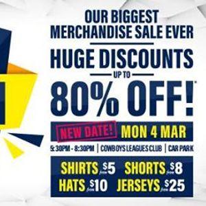 MEGA Merch Sale